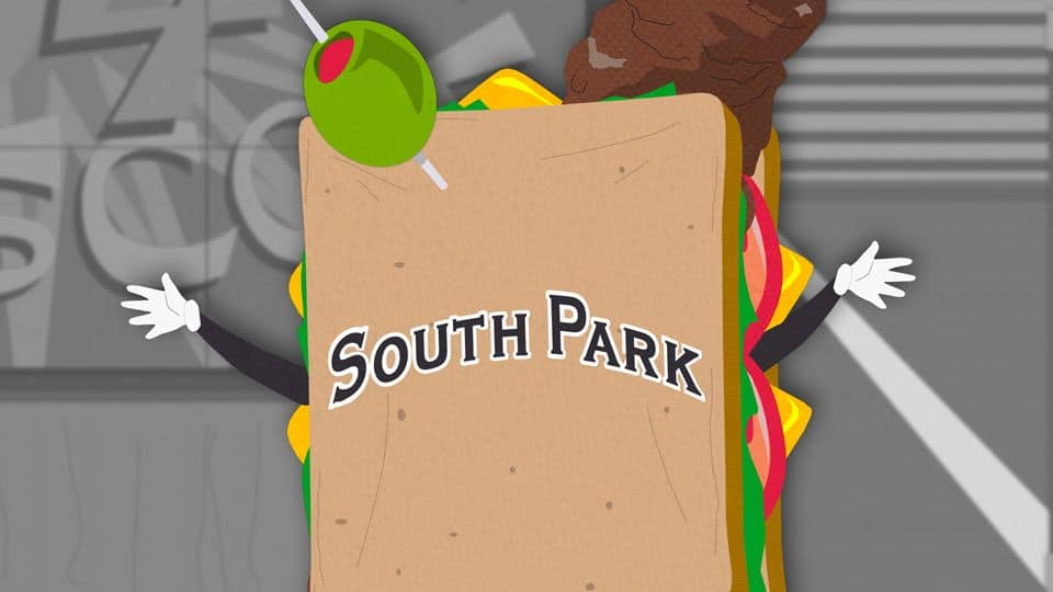 South Park s08e08 - Douche and Turd