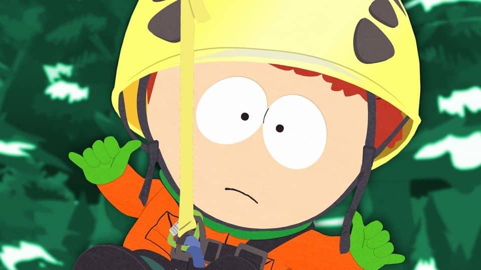 South Park s16e06 - I Should Have Never Gone           Ziplining
